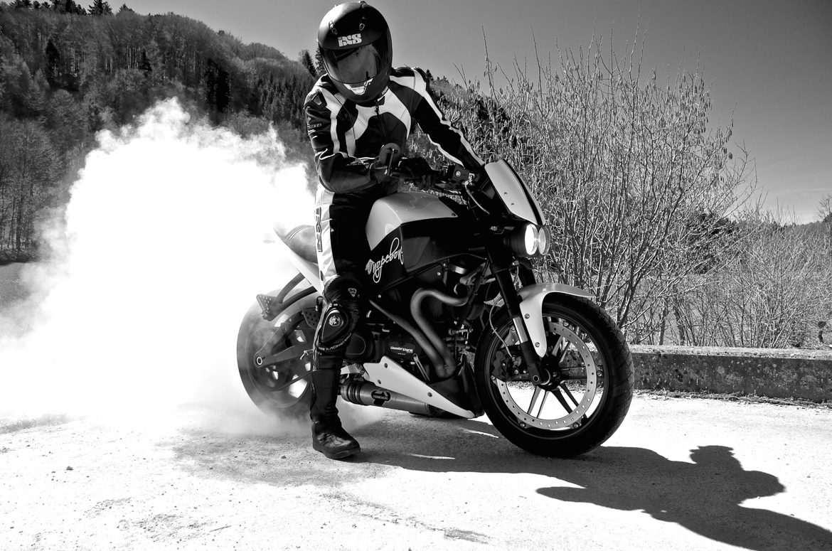 Burnout Buell XB9SX