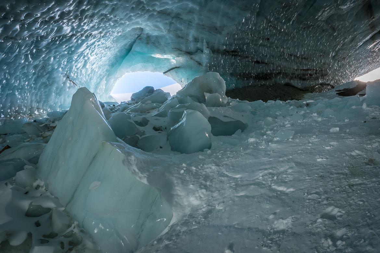 Schneeschuhwanderung Langgletscher